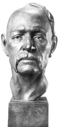 Скульптурний портрет Івана Сірка